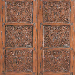 "Provence Floral Hand Carved Prehung Double Door, Solid Mahogany - SKU#    37-Provence_2Brand    AAWDoor Type    ExteriorManufacturer Collection    International Collection Exterior DoorsDoor Model    Door Material    WoodWoodgrain    MahoganyVeneer    Price    3380Door Size Options    2(30"") x Height"" (5'-0"" x 6'-8"")  $02(32"") x Height"" (5'-4"" x 6'-8"")  $02(36"") x Height"" (6'-0"" x 6'-8"")  +$402(42"") x Height"" (7'-0"" x 6'-8"")  +$3602(36"") x Height"" (6'-0"" x 7'-0"")  +$3002(30"") x Height"" (5'-0"" x 8'-0"")  +$6202(32"") x Height"" (5'-4"" x 8'-0"")  +$6202(36"") x Height"" (6'-0"" x 8'-0"")  +$7002(42"") x Height"" (7'-0"" x 8'-0"")  +$700Core Type    SolidDoor Style    Door Lite Style    Door Panel Style    Hand Carved Panel , 3 PanelHome Style Matching    Door Construction    Solid Stiles and RailsPrehanging Options    PrehungPrehung Configuration    Double DoorDoor Thickness (Inches)    1.75Glass Thickness (Inches)    Glass Type    Glass Caming    Glass Features    Glass Style    Glass Texture    Glass Obscurity    Door Features    Door Approvals    Door Finishes    Door Accessories    Weight (lbs)    850Crating Size    25"" (w)x 108"" (l)x 52"" (h)Lead Time    Slab Doors: 7 daysPrehung:14 daysPrefinished, PreHung:21 daysWarranty    1 Year Limited Manufacturer WarrantyHere you can download warranty PDF document."