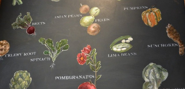 Eclectic  Produce wall art