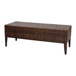 Great Deal Furniture - Hobbes Outdoor Multibrown Wicker Bench - Add comfort to your outdoor experience with our Hobbes Outdoor Multibrown Wicker Bench. Constructed of durable wicker, this bench adds a sophisticated touch to your outdoor decor. Add to your existing outdoor furniture or as a new addition.