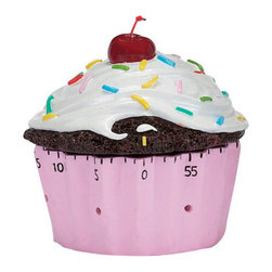 Kitchen Timer, Confetti Cupcake - Put your sous chef in charge of setting the cupcake timer when the treats go into the oven.