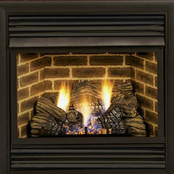 Majestic Products - Majestic 32VFSPVC VFS Series Vent-Free Gas Fireplace - The Majestic 32VFSPVC VFS Series Vent-Free Gas Fireplace is part of Majestic's full line of products to complete your fireplace or stove. The 32VFSPVC model from Majestic's VFS Series offers you a consumer-friendly control panel that allows for easy upgrades, and an exclusive Triple Play Burner System to produce full, yellow flames with that authentic, randomly flickering glow. This model features Liquid Propane operation for easy installation, and has a heating capacity of up to 1,650 square feet of room. Majestic has been serving in the production of quality fireplaces, stoves, log sets, and outdoor accessories for over 50 years, and offer a wide range of beautiful styles, sizes, and trims.
