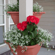 Traditional Outdoor Pots And Planters by cleanairgardening.com