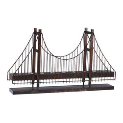 Bridge Candleholder - Bridge Candleholder