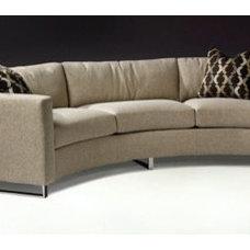 Thayer Coggin Circle Sofa