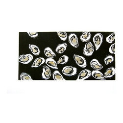 """""""Oysters"""" (Original) by Carolyn Ryan - Oysters considered an aphrodisiac, symbolize the sense of taste as well as the transitory nature of sensual desire."""