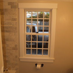 Anderson A-Series - This classic window works well within the new 1st floor bathroom