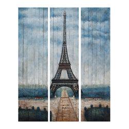 Bassett Mirror - Bassett Mirror Eiffel Tower 7300-133EC - Bassett Mirror Eiffel Tower 7300-133EC