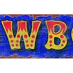 Red Horse Signs - Vintage Signs owboy - Give  your  buckaroo  a  special  sign  for  his  room  or  add  to  your  western  decor  for  a  flamboyant  sense  of  color  with  a  rustic  style.  Printed  directly  to  distressed  wood  this  sign  measures  7  x  28.