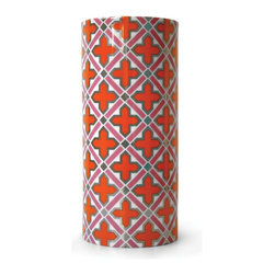Jonathan Adler - Jonathan Adler Carnaby Talitha Vase - The perfect pop of geometric colour for your console, credenza, or buffet. Mix the pieces in the collection for a downtown vibe at your breakfast table or match them for uptown élan to complete your dessert setting.