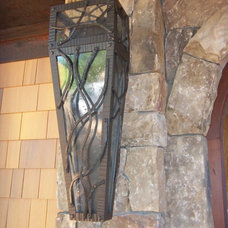 Eclectic Wall Lighting by Oak Hill Iron