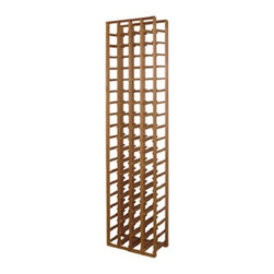 """Vinotemp Rack-H4PR 4 Column Premium Redwood 72 Bottle Wine Racks - The cornerstone to building your wine cellar, this wine rack is 4 columns wide and features 3 3/4-inch cubicles. Vinotemp uses untreated domestic wood for this rack. We never use glue to hold our racks together because it can weaken over time, only quality metal fasteners. And of course, this rack is hand made in our Southern California factory. Features: - Premium Redwood - Universal 3 3/4"""" racking fits most bottle sizes - 72 Individual bottle spaces - Dimensions 18 1/8"""" W x 12"""" D x 72"""" H 7245a"""