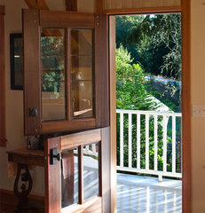 traditional front doors by Real Carriage Door Company