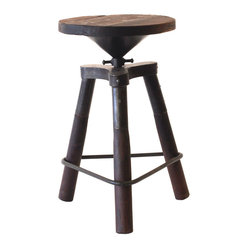 Bale Swivel Stool The Bale Swivel Stool Is An Attractive