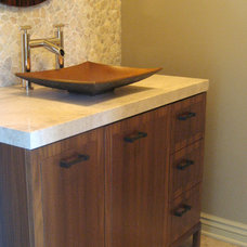 Contemporary Powder Room by Design Detail