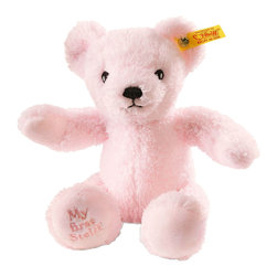 Steiff - Steiff Baby My First Steiff Teddy Bear Pink - What better way to start life than with your very own, very first Steiff Teddy bear. He´ll keep you warm, he´ll keep you safe and he will always keep your secrets. What better gift to give a newly born? Why not give them the best start in life with a best friend for life?