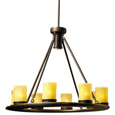 Rustic Chandeliers by Elite Fixtures