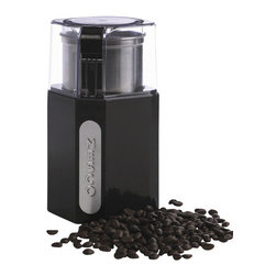 Metal Ware Corp. - Nesco Blade Coffee Grinder - Nesco BG-13 Blade Coffee Grinder with Removeable Grind Cup - The removeable Stainless Steel grind cup virtually eliminates the frustration of messy grounds spilling onto the coutnertop. The cup and lid are dishwasher safe, so it's easy to clean. And, it's compact enough to stow away in a cupboard or drawer for less kitchen clutter. And if that weren't enough, it also comes in handy for grinding dried herbs and spices. 250 watts, one touch operation, removeable Stainless Steel grind cup, compact design, cord storage, dishwasher safe cup and lid.