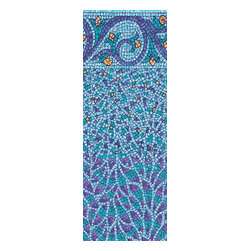 """Blue Wave - Blue Wave Oval Tuscan Bead 48 Inch - 18 ft x 36 ft - Tuscan tile above-ground beaded liners 48"""" and 52"""" our beaded liners are made to fit most above-ground pools needing a beaded liner. Constructed of top-quality heavy gauge vinyl and packed with U.V. inhibitors, our liners will last for years and years. Heavy gauge liners are backed by a 25-year warranty. Beaded liners are available to fit flat bottom pools 48"""" or 52"""" deep with a beaded coping attachment. Our liners do not fit Wilkes pools or Gibraltar pools."""
