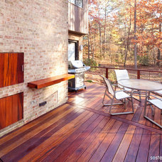 Traditional Deck by Sterling E. Stevens Design Photo