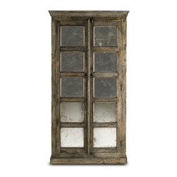 Black Patina Cabinet - Built of mango wood, this unique cabinet ...