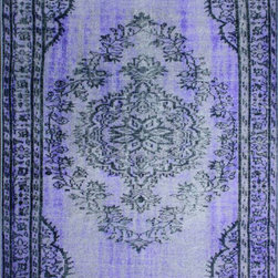 "nuLOOM - Traditional 5' 5"" x 8' 2"" Purple Machine Made Area Rug Overdyed Grove - Made from the finest materials in the world and with the uttermost care, our rugs are a great addition to your home."