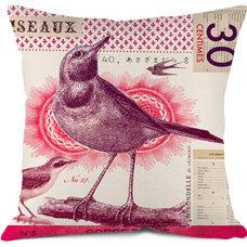 Eclectic Decorative Pillows by Bonjour mon coussin