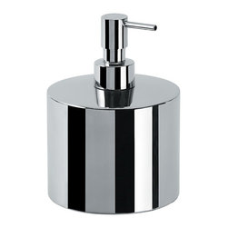 WS Bath Collections - Saon Soap Dispenser in Stainless Steel - Soap Dispenser