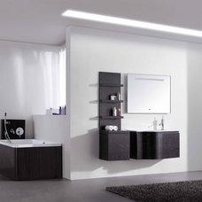 contemporary bathroom vanities and sink consoles by ConceptBaths.com