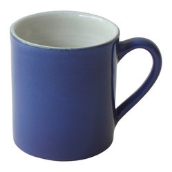 Gorky Gonzalez Mug - These sturdy, elegant mugs are a coffee purist's dream come true. Their sturdy, elegant design will bring a bright spot to your morning routine. Designed by renowned Mexican artisan Gorky Gonzalez, they offer simple, fuss-free style and high quality craftsmanship that'll keep you smiling for years. Available in cherry red, bright blue or glossy white.