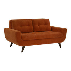 Lazar Industries - Ava Loveseat - Ava Loveseat by Lazar Industries in Luscious Hacienda