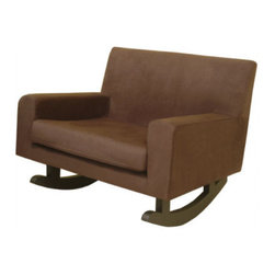Nurseryworks - Storytime Rocker - This sleek and comfortable rocker will let you sit for hours with your baby without threatening your superb modern taste. Plus it will look great in any room of the house in future years.