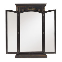 Hooker Furniture - Hooker Furniture Grandover Floor Mirror 5029-90020 - Grandover is a high-drama European traditional collection updated for today with a modern outlook and functional details.