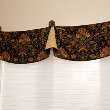Traditional Curtains by Home Life Interiors, Inc.