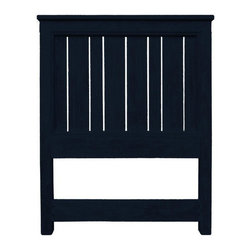 EuroLux Home - New Twin Bed Black Painted Hardwood Cottage - Product Details