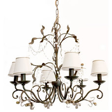 Transitional Chandeliers by LogicSun