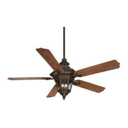 Savoy House - Savoy House Chatsworth Ceiling Fan in Walnut Patina - Savoy House Chatsworth Model SV-52-515-5O-40 in Walnut Patina with Oak Finished Blades.
