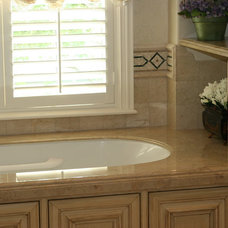 Traditional Bathroom Countertops by Max Marble & Granite, Inc.