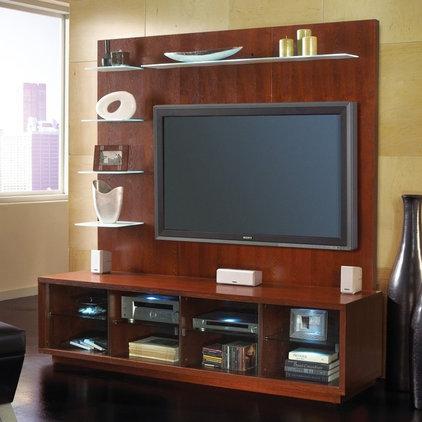 Modern Media Storage by Hayneedle