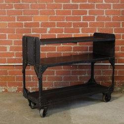 Eclectic Bar Carts -