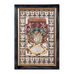 """Armes Of Kings"" Framed Art"