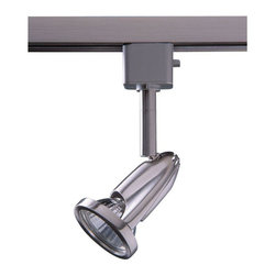 Designers Choice Collection - Designers Choice Collection Track Lighting Series 8 Line Voltage GU-10 Satin - Shop for Lighting & Ceiling Fans at The Home Depot. The Designers Choice Collection Series 8 Line-Voltage GU10 Track Lighting head compliments your decor with a Satin Nickel finish while providing 50 watts of directional Halogen light. A variety of available Track lengths enable custom Lighting design. Easily snaps into track at any point with a quarter-turn.