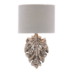 Kathy Kuo Home - Pair French Country Fleurette Floral Applique Linen Wall Sconces - The hand carved floral wood applique is as unique as the artist who creates it. The rustic dark grey finish is made to wear and chip with time.  Price marked is for a pair.  Price marked is for a pair.