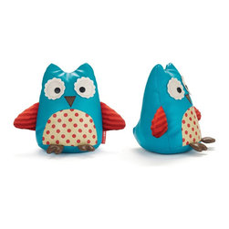 Skip Hop Set of 2 Zoo Bookends, Owl - This is a trendy set of owls for your child's book nook.