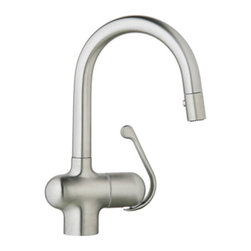 Grohe 32256SD0 Ladylux Pro Faucet with Pull Down Spray. in Stainless Steel -