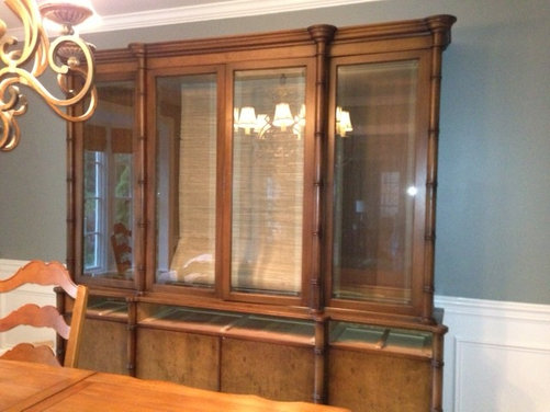 Should I paint my china cabinet?
