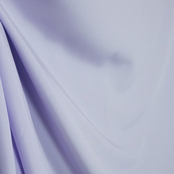 Satin Lilac Solid Light Purple Drapery Fabric By The Yard - Satin Lilac is a simple solid light purple satin fabric.  This fabric would be best uses as window treatments, bedding or pillows.