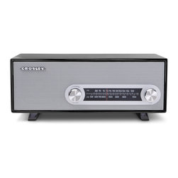 Crosley - Ranchero Radio- Black - Dimensions:  13 x 6 x 5.5 inches