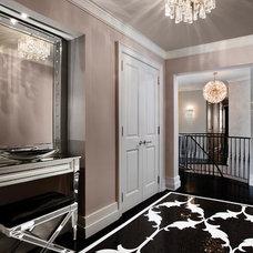 Wall And Floor Tile by Sara Baldwin Design
