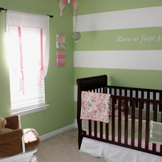 Contemporary Nursery by Ally Whalen Design