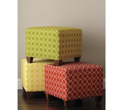 Eclectic Footstools And Ottomans by Garnet Hill